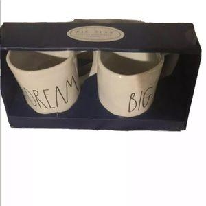 Rae Dunn dream big mug set new